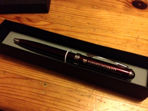 Harvard pen